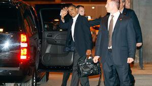 Obamanın çantası İstanbulda