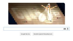 Leyla Gencer için doodle ile doğumgünü kutlaması