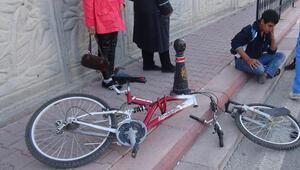 Kazazede çocuk bisikleti için ağladı
