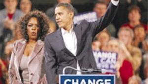 Obama yükseliyor Oprah kaybediyor