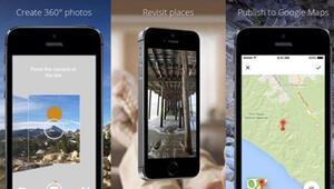 Googleın fotoğraf uygulaması Photo Sphere iPhonea geldi