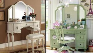 Dekorasyonda makyaj masası