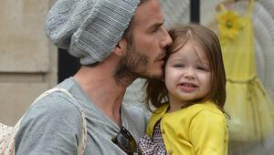 Beckham'dan kızına Hirst imzalı tablo