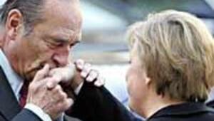 Chirac and Merkel agree to up pressure on Turkey