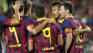 Barcelonadan büyük yardım