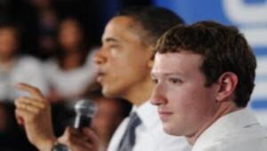 Obama Facebook merkezini ziyaret etti