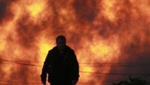 Californiada korkunç patlama: 53 ev yerle bir oldu