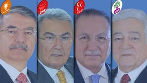 TBMM Başkanlığı için dört isim yarışacak