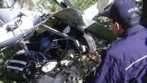 Sinop'ta 'denenen hava aracı' düştü