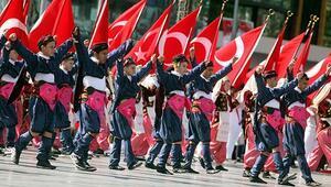 İzmirden 23 Nisan renkleri