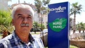 Antalyayı karıştıran Mursi Parkı