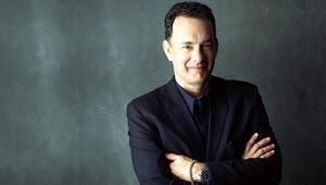 Oscarlı ünlü oyuncu Tom Hanks, daktilo uygulaması yaptı