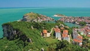 Mavili yeşilli Karadeniz yolları