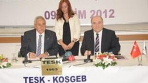 'Esnafa destek' protokolü imzalandı