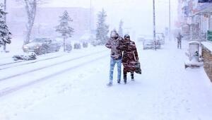 Anadolu soğuktan dondu