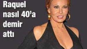 Raquel Welch 67 yaşında güzellik ikonu oldu