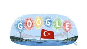 Cumhuriyetin 91. yılı... Cumhuriyet Bayramı için Google doodle hazırladı