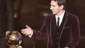Altın Topa Messi damgası