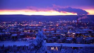 Rovaniemi'de buz otel tecrübesi: Donduk