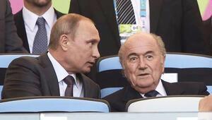 Vladimir Putin: Sepp Blattere Nobel Ödülü verilmeli