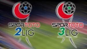 Spor Toto 2. Lig ve 3. Ligde haftanın maçları