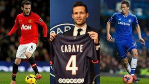 Avrupanın 5 büyük liginde hareketli bir ara transfer