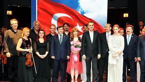 Bodrum Kalesinde Türk rüzgarı