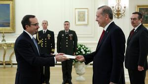 Erdoğan, ABD Büyükelçisi Bassi kabul etti