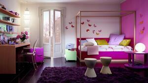 Genç yatak odası dekorasyonu