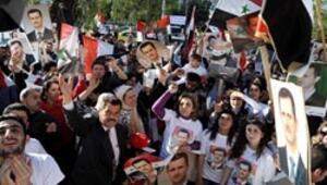 Suriyelilerden El Cezire protestosu