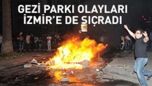 İzmir sokak ve caddeleri yangın yeri