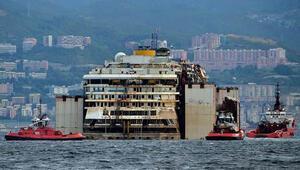 Costa Concordia son yolculuğunu tamamladı