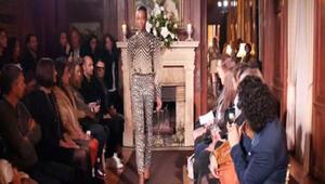 Paris Büyükelçiliği rezidansında moda defilesi