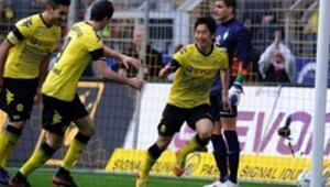 Borussia Dortmundun zirve keyfi