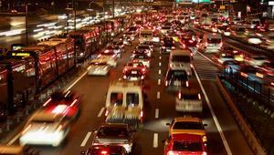 Trafikteki araç sayısı Kasım sonunda 19 milyona yaklaştı