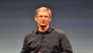 Steve Jobs değil Tim Cook sahne aldı