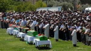 Milasta ölen işçiler için stadyumda tören