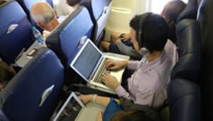 Uçaklarda artık elektronik aletler kullanılabilecek