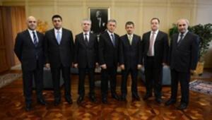 SPKnın yeni başkanı Vahdettin Ertaş görevine başladı