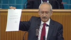 Kılıçdaroğlu dokunulmazlık dilekçesini verdi