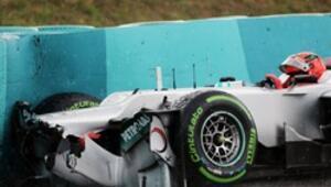 Formula 1 pilotu böyle hata yapmamalı