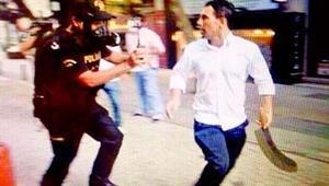 Palalı saldırgandan polis memuruna şok sözler: Senin DHKP-C ile bir alakan var mı
