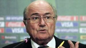 Blatter konuştu