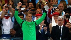 Dünya Kupasının altın eldivenleri
