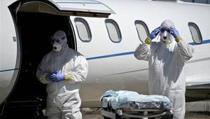 THY uçağında Ebola kontrolü