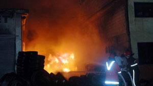 Gaziantepte fabrika yangını: 3 ölü, 36 yaralı