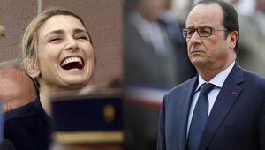 Hollande ve Gayet resmi törende ilk kez görüntülendi