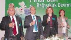 Pınar, 'Denge' ile mikroplara karşı koruma kalkanı kuracak