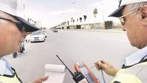 Trafikte anında ceza dönemi