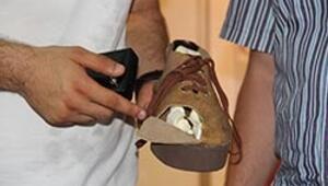 Uzaktan kumandalı ayakkabı